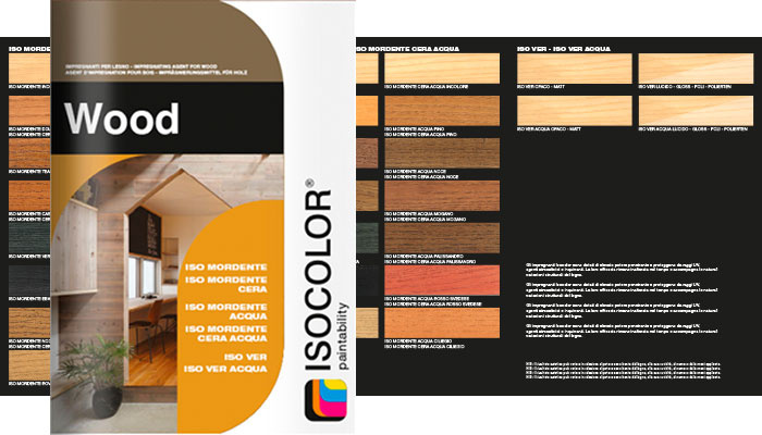 New Wood folder: creativity and care of wood.