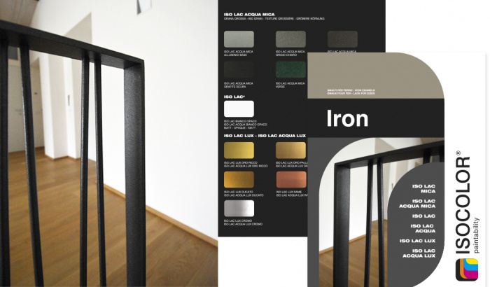 Le fer s'anime avec Iron by Isocolor!