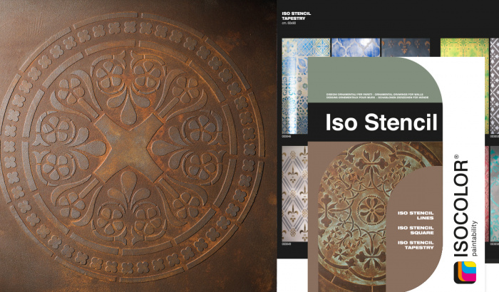 It is easy to create complex ornamental designs, with Iso Stencil!