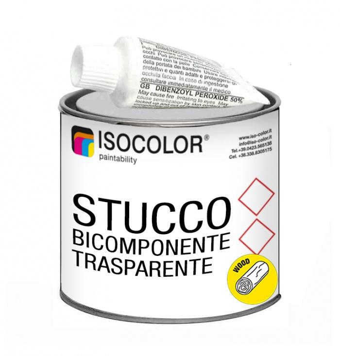 STUCCO TRANSPARENT À DEUX COMPOSANTS
