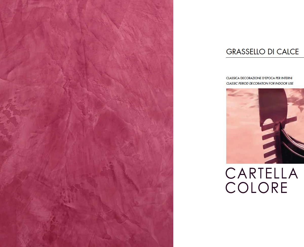 Catalogo colori per pareti for Grassello di calce spatolato
